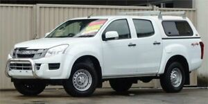 2015 Isuzu D-MAX TF MY15 SX (4x4) White 5 Speed Automatic Crew Cab Chassis Lismore Lismore Area Preview