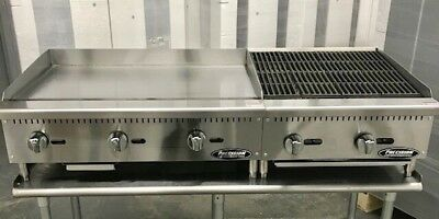 36 Flat Griddle 24 Char Broiler Grill Package New Char Gill 60
