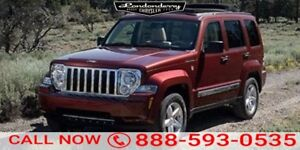 2009 Jeep Liberty 4WD LIMITED Accident Free,  Navigation (GPS),