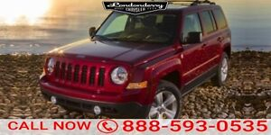 2014 Jeep Patriot 4WD LIMITED Accident Free,  Leather,  Heated S
