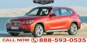 2015 BMW X1 28I Leather,  Sunroof,