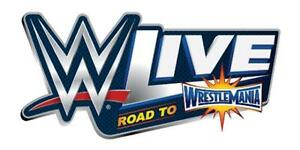 WWE Live Road to WrestleMania London March 12th