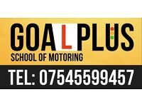 Driving lessons first 3 hours £30.00 for beginners and you will have 1 free test