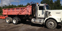 1998 Kenworth T800 with Dump Box, Containers, Etc.