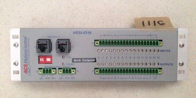 ACS Motion Control HSSI-IO16 Module Expansion Distributed I/O