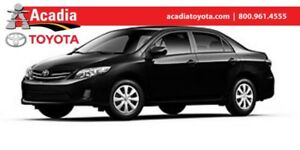 2013 Toyota Corolla CE **NO PAYMENTS UNTIL SPRING**