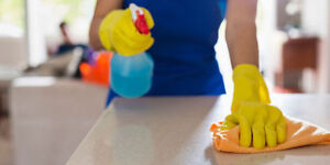 Small family cleaning company,charging less than big franchised