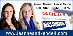 Looking for Buyers & Sellers!  Leanne and Kendell - REALTORS
