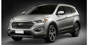 2013 Hyundai Santa Fe Leather,  Sunroof,  Bluetooth,  A/C,