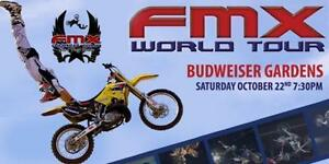 Last Chance ★Fmx World Tour Budweiser Gardens, SAT Oct 22★