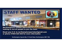 General Assistant / Bar Staff