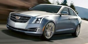 2015 Cadillac ATS Sedan AWD HTD LEATHER SUNROOF LOW KM