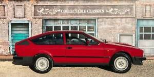 COLLECTABLE CLASSIC CARS - 1983 ALFA ROMEO GTV6 2.5 Strathalbyn Alexandrina Area Preview