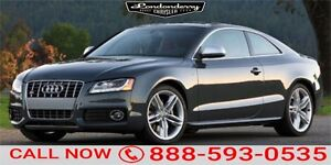 2012 Audi S5 AWD S5 Accident Free,  Navigation (GPS),  Leather,