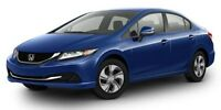 2013 Honda Civic Sdn LX BLUETOOTH Car Loans Available Apply Toda