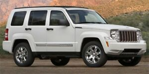 2012 Jeep Liberty 4WD SPORT Leather,  Bluetooth,
