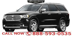 2011 Dodge Durango AWD RT Navigation (GPS),  Rear DVD,  Leather,