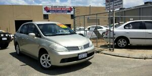 2007 Nissan Tiida C11 MY07 ST-L Gold 4 Speed Automatic Sedan Malaga Swan Area Preview