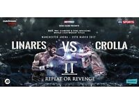 Crolla vs Linares 2! Two Tickets (Block B Row D Seats 17&18) £200