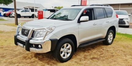 2013 Toyota Landcruiser Prado KDJ150R 11 Upgrade GXL (4x4) Silver Pearl 5 Speed Sequential Auto Inverell Inverell Area Preview