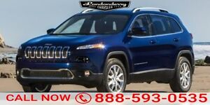 2016 Jeep Cherokee 4WD NORTH Heated Seats,  Back-up Cam,  Blueto