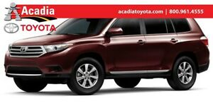2013 Toyota Highlander HIGHLANDER BASE/PLUS/SE