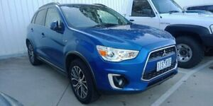 2016 Mitsubishi ASX XB MY15.5 LS 2WD Blue 6 Speed Constant Variable Wagon Berwick Casey Area Preview