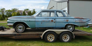1961 Chevrolet Biscayne 2 Door Flat Top