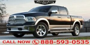 2016 Ram 1500 4WD CREWCAB BIGHORN Accident Free,  Heated Seats,
