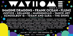 WAYHOME Music Festival Hard Copy Tickets with receipts