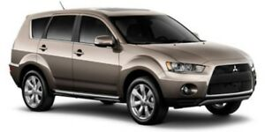 2013 Mitsubishi Outlander AWC LS Heated Seats,  Back-up Cam,  Bl