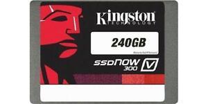 Kingston 240GB SSDNow V300 Solid-State Drive - 2.5in. SATA - 6GB