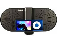 (Logic3) i-Station GO Universal Amplified Stereo Speaker (Black)