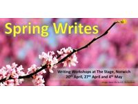 Spring Writes, Writing Workshop, April 20th (Early booking discount 13th April)