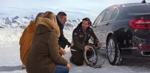 Vier MOTOR-TALKer nehmen am BMW Snow Basic Training teil
