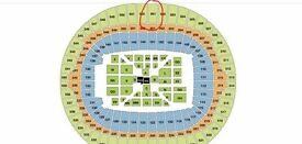 ANTHONY JOSHUA VS WLADIMIR KLITSCHKO BLOCK 501 ROW 14
