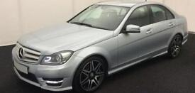 Mercedes-Benz C180 1.6 ( 154bhp ) Blue FROM £72 PER WEEK !
