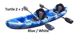 Scorpio Turtle III tandem Fishing Kayak plus seats plus paddles West Gosford Gosford Area Preview
