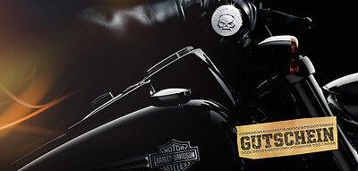 """Harley-Davidson """"GUTSCHEIN"""" für Rick`s Motorcycles Harley-Davidson Wert 250 €"""