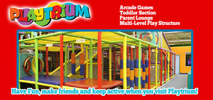 PLAYTRIUM INDOOR FAMILY ACTIVITY CENTRE...FUN HAPPENS ! Kingston Kingston Area image 1