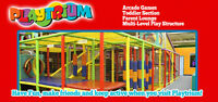 PLAYTRIUM INDOOR FAMILY ACTIVITY CENTRE...FUN HAPPENS !