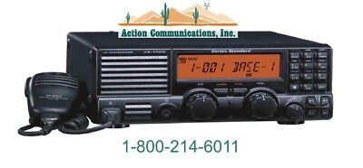 New Vertexstandard Vx-1700 Low Band 1.6-30 Mhz 125 Watt 200 Ch Mobile Radio