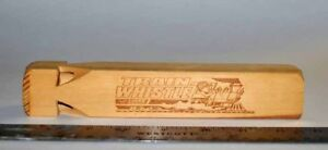 Wooden Train Whistle for sale