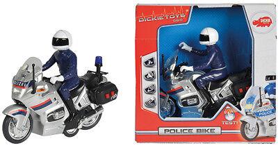 Dickie SOS Polizeimotorrad mit Licht und Sound