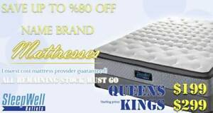 SEALY AND SERTA KING MATTRESS SALE