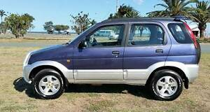 DIAHATSU TERIOS SUV MANUAL!!! Kippa-ring Redcliffe Area Preview