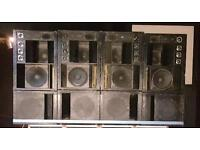 Mini scoops Fane 15xb loaded bass bins. Eminence, Pd, turbomax, oberton, jah tubbys, mostec