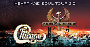 Sunday: Chicago & Earth, Wind and Fire FLOOR Tickets