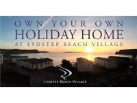 Holiday Homes at Lydstep, Nr Tenby from only £30,000, free boat facilities, set right on the beach