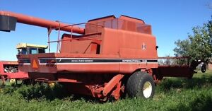 Combine and canola roller for sale